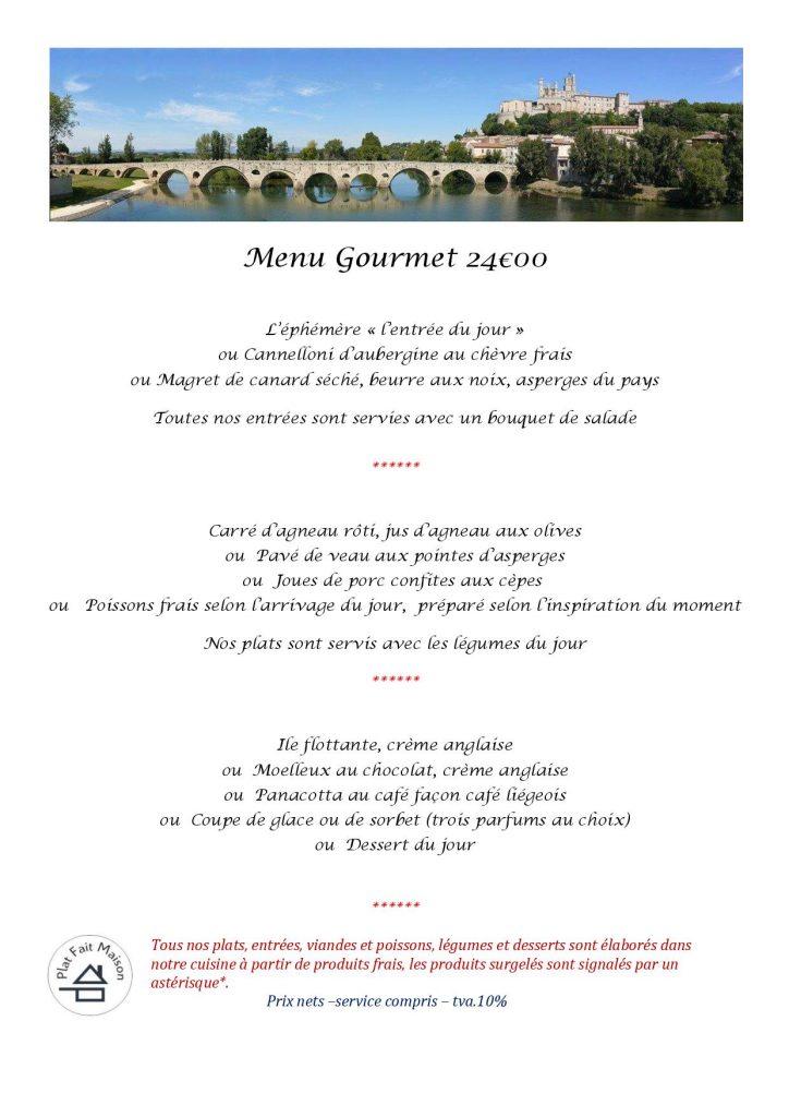 Restaurant Saint Pargoire, Pezenas, Montagna,c Gignac